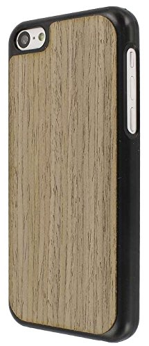 MPERO Embark Series Recycled Wood Case Tasche Hülle for Apple iPhone 5C - Walnut