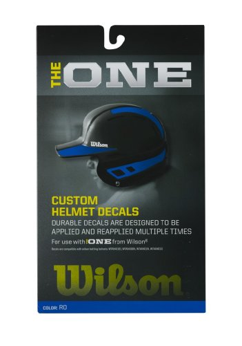 Wilson Custom Helmet Decal Kit (Royal)