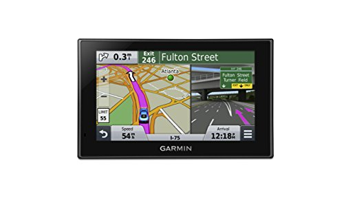 Garmin Nuvi 2539Lmt Gps Navigator With Spoken Turn By Turn Directions  Lifetime Map Updates  Speed Limit Display  Traffic Updates  And Lane Guidance
