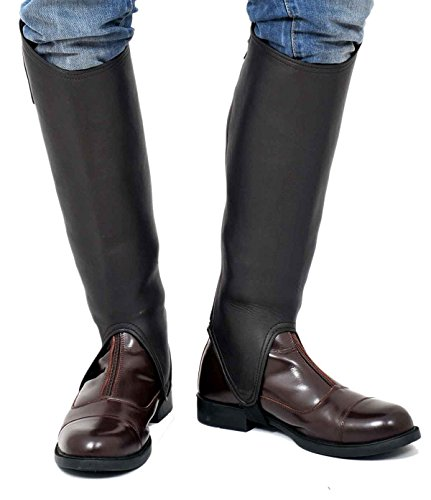 Riders Trend Soft Leather Gaiter - marrón