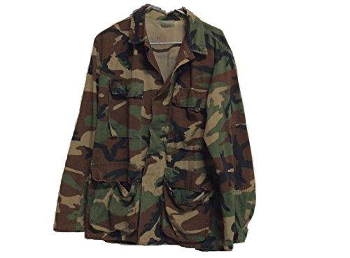 Camo Bdu Military Shirt Jacket - 2