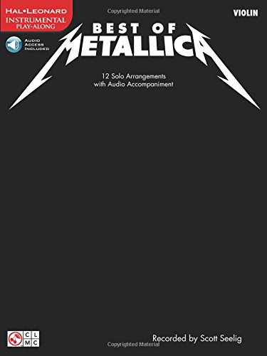 Best of Metallica for Violin: 12 Solo Arrangements with CD Accompaniment