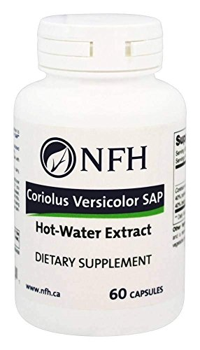 NFH - Coriolus Vericolor SAP - 60 Capsules