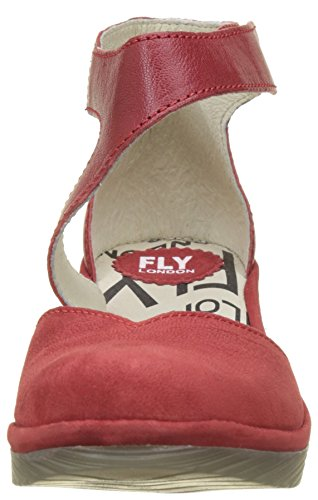 Red Fly Pats801fly Women's Red Ankle London Strap Heels Lipstick w88vnZ