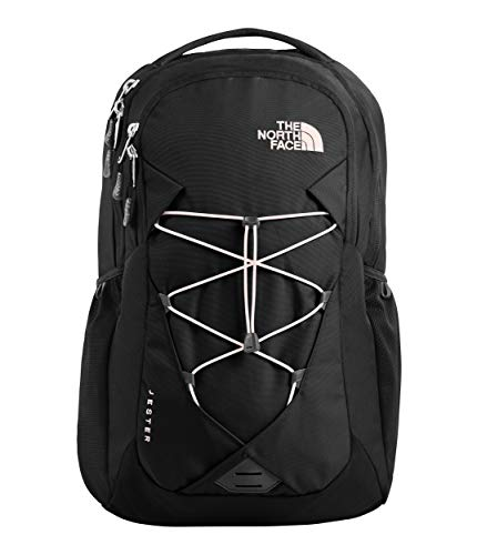 Woman Salt - The North Face Women's Jester Backpack Tnf Black/Pink Salt One Size