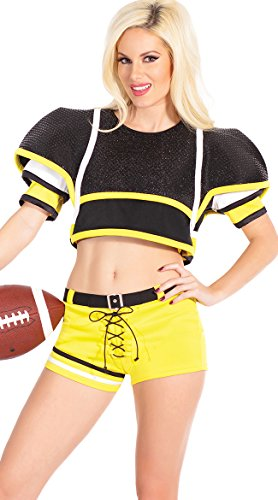 Sexy Football Player, Adult Woman Football Player Costume - Female Football Player Costume
