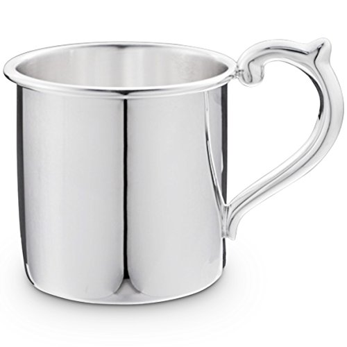 Cunill 3.5-Ounce Plain Baby Cup, 2.12-Inch, Sterling Silver by Cunill