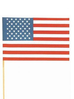 Flagstobuy–Petite American Stars and Stripes agitant des Drapeaux avec clés