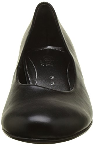 Basic 51 Black Women's Black 51 Schwarz Heels Closed Gabor Comfort Toe qAfHwEg