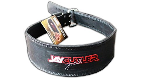Schiek Sports, Inc. Leather Jay Cutler Signature Belt in Black Size: Small (27