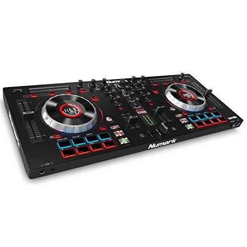 [해외] Numark 4데크DJ콘트롤러 Serato DJ Intro부착 Mixtrack Platinum