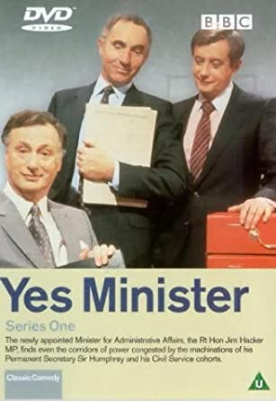 Yes Minister Series One 1980 Dvd By Paul Eddington Amazon Co Uk