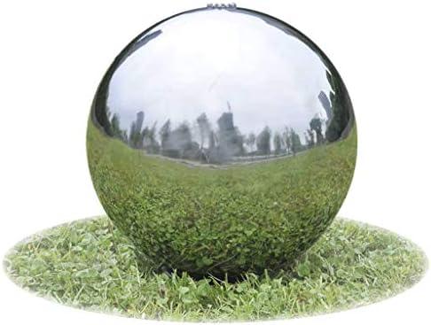 vidaXL Fuente Decorativa de Tipo Bola con Leds jardín Acero Inoxidable 20 cm: Amazon.es: Jardín