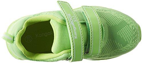KangaROOS Unisex-Kinder Kanga S Sneaker Grün (Lime)