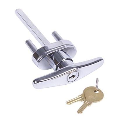 Amazon.com: Garage Door Lock Keyed T- Handle: Home Improvement