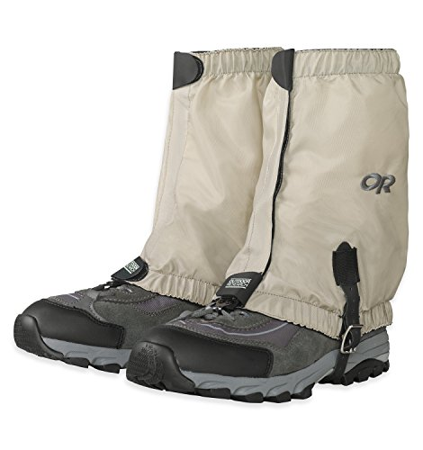 Outdoor Research Bugout Gaiters, Tan, Large