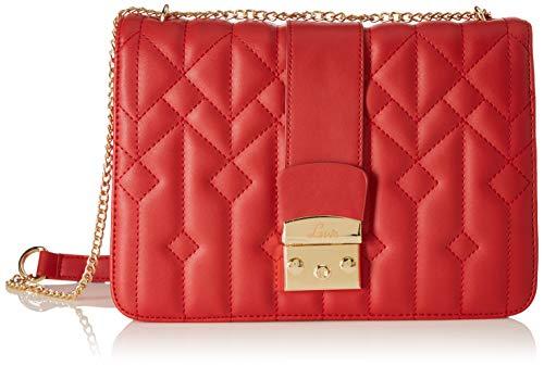 Jana Structured Flap Lock Sling Bag