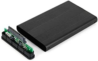 by TRIXES 2.5 SATA to USB Hard Drive Caddy HDD Enclosure CASE