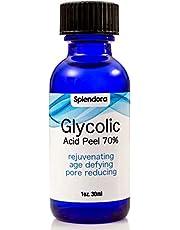 Glycolic Acid Peel 70% - Pro Skin Peel - Age Defying, Erase Wrinkles, Large Pores, Acne Scars, Blackheads, Stretch Marks
