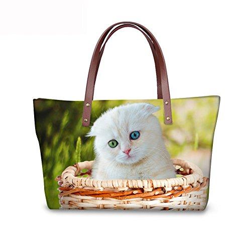 Top Satchel Bages Handbags FancyPrint Handle Shopping Women Tote C8wca4955al 7qwwpIa