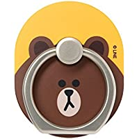LINE FRIENDS Brown Smartphone Styling Ring Holder One Size Brown