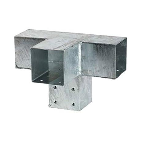alta qualità prestazioni superiori dove posso comprare Raccordo in legno a forma di T per 4 travi da 90 x 90 mm di ...