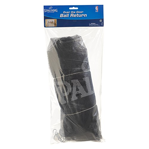 Spalding NBA Over The Door Ball Return Mesh Net, 10' x 34'', Black by Spalding