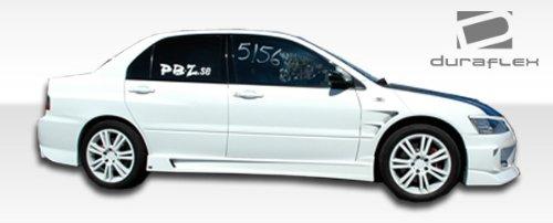 - 2003-2006 Mitsubishi Lancer Evolution 8 9 Duraflex C-Speed Side Skirts Rocker Panels - 2 Piece