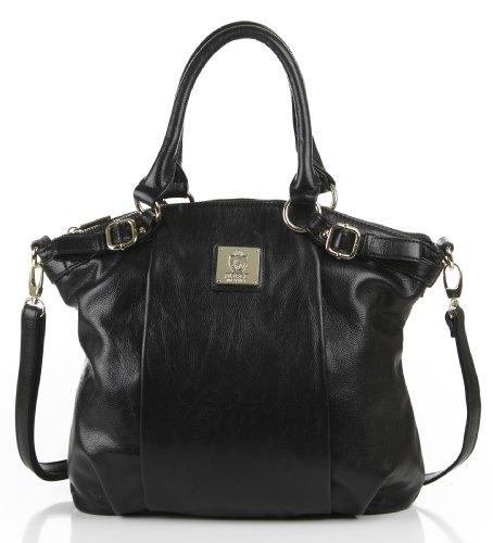 Noble Mount Helena Tote/Handbag – Black, Bags Central