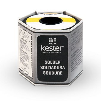 Kester 44 Lead Solder Wire - 1 lb - 0.125 in Wire Diameter - Sn/Pb Compound - 40 % Lead Content - 24-6040-0069 [PRICE is per POUND]