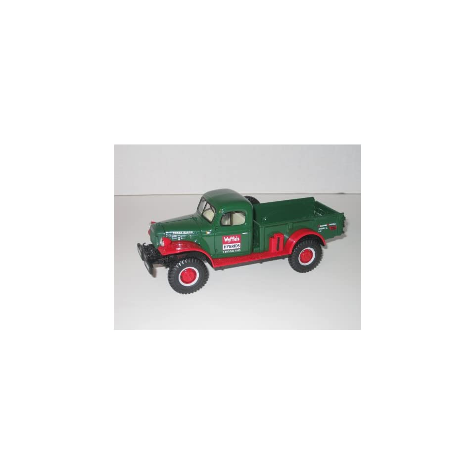 First Gear Die Cast Truck, 18 2797, 1949 Dodge Power Wagon Express Pickup, Wyffels Hybrids, 1/30th scale