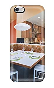 Snap-on Case Designed For Iphone 6 Plus- Contemporary Breakfast Nook With Banquette Seating And Vaulted Ceiling