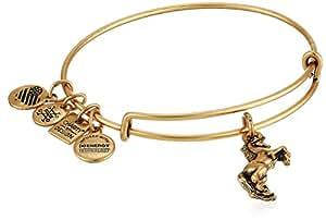Alex and Ani Women's Charity by Design - Unicorn Bangle Rafaelian Gold One Size