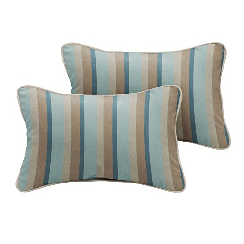 Mist Pillow - Mozaic Company Sunbrella Indoor/ Outdoor 18