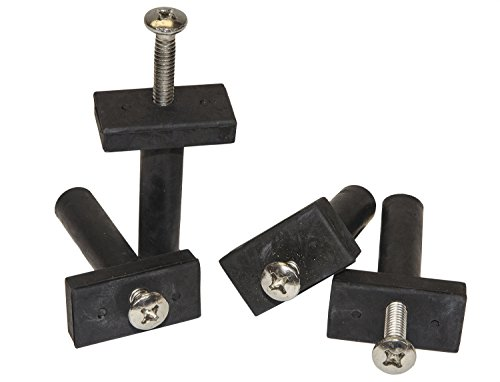 RITE-HITE Isolator-Bolts for Blind Holes - 4 Pack, Ideal for Mounting Trolling Motors, GPS Systems, Depth Finders or Where a Blind Hole Application is Required (Blind Bolt)