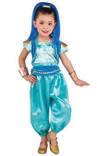 Arlene's Costume (Rubie's Costume Shimmer & Shine Deluxe Shine Costume, Small)