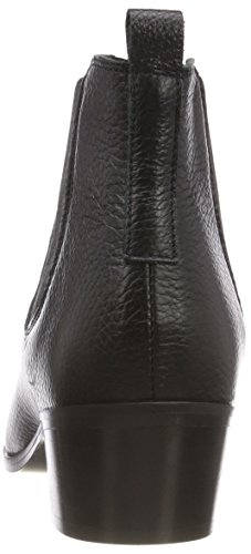 Leather Black Pieces Psdelta Boots Black Women's Black Ankle 8WE7q