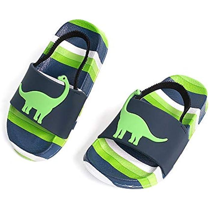 FUNKYMONKEY Toddler Boys & Girls Sandals Kids Outdoor Beach Pool Water Shoes