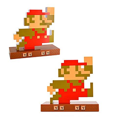 Novelty Super Mario Retro Alarm Clock Mario