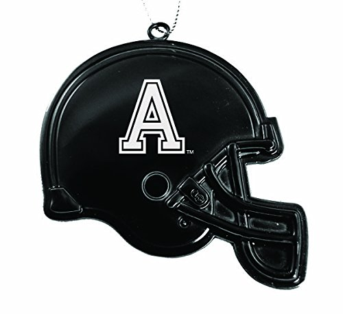 United States Military Academy at West Point - Chirstmas Holiday Football Helmet Ornament - Black