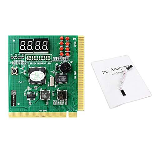 Baynne PCI PC Diagnostic Analyzer 4 Digit Card Motherboard Post Tester