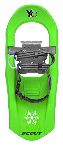 Yukon Charlies Junior Scout 716 Molded Snowshoes - Green by Yukon Charlie's
