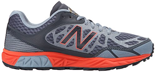 New Balance Womens Leadville V3 Trail Running Shoe Grey/Orange FQ7LC