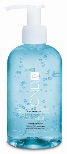 Creative Nail Design Cool Blue Hand Sanitizer 8 oz