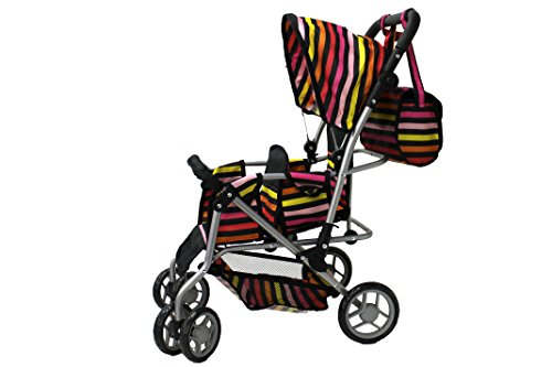 Doll Twin Stroller Baby Carriage - 9
