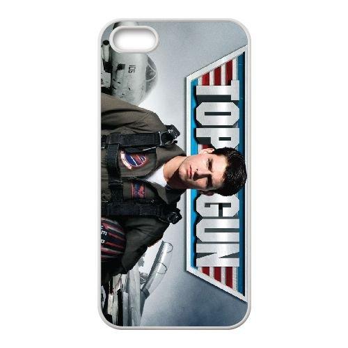 Topgun Film 004 coque iPhone 4 4S cellulaire cas coque de téléphone cas blanche couverture de téléphone portable EOKXLLNCD20486