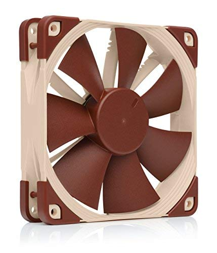 Noctua NF-F12 PWM, Premium Quiet Fan, 4-Pin (120mm, Brown) (12v Stator And Hub)