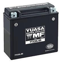 Yuasa GRT & YTZ Sealed Battery - YT12A-BS - 5-15/16 x 3-7/16 x 4-3/16 Inches - YUAM32ABS (PLT-180)