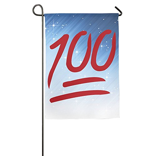 Buecoutes 100 Emoji Home Family Party Flag 1827inch Hipster Welcomes The Banner Garden Flags