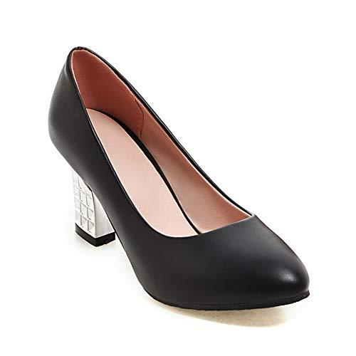 SDC05603 AdeeSu Sandales 5 Noir Noir Compensées Femme 36 ddrgq1